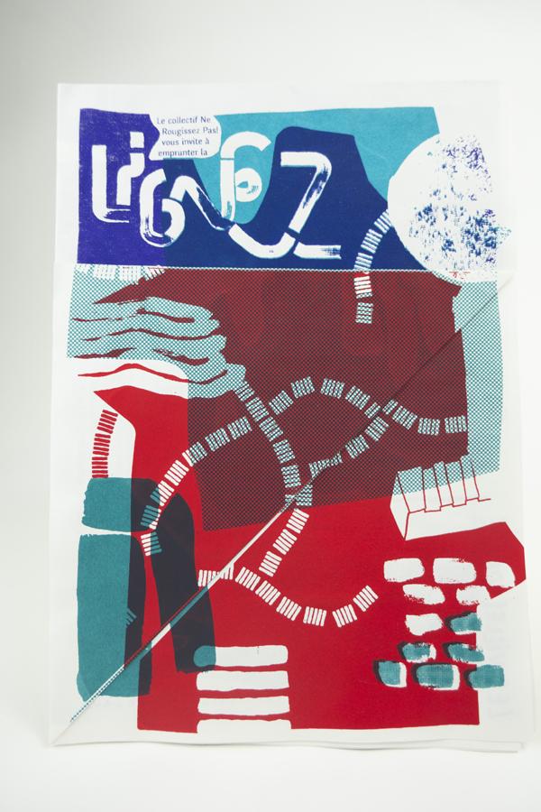 bleu M/étal 48 cm l x 5 cm w x 18.5 cm h ZJchao R/éveil mural et pour bureau avec calendrier et temp/ératures avec chiffres grand format